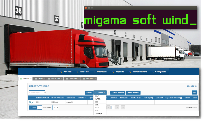 Migama_Soft Wind Transport