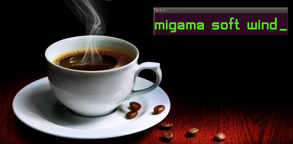 Migama Soft Wind soluție software de gestionare a unei rețele de automate de cafea